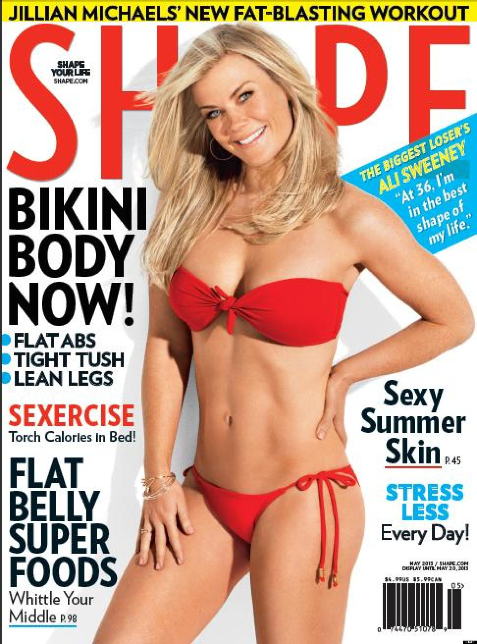 Alison Sweeney Hot: 'The Biggest Loser' Host Shows Off Amazing Bikini Body In Shape Magazine | HuffPost