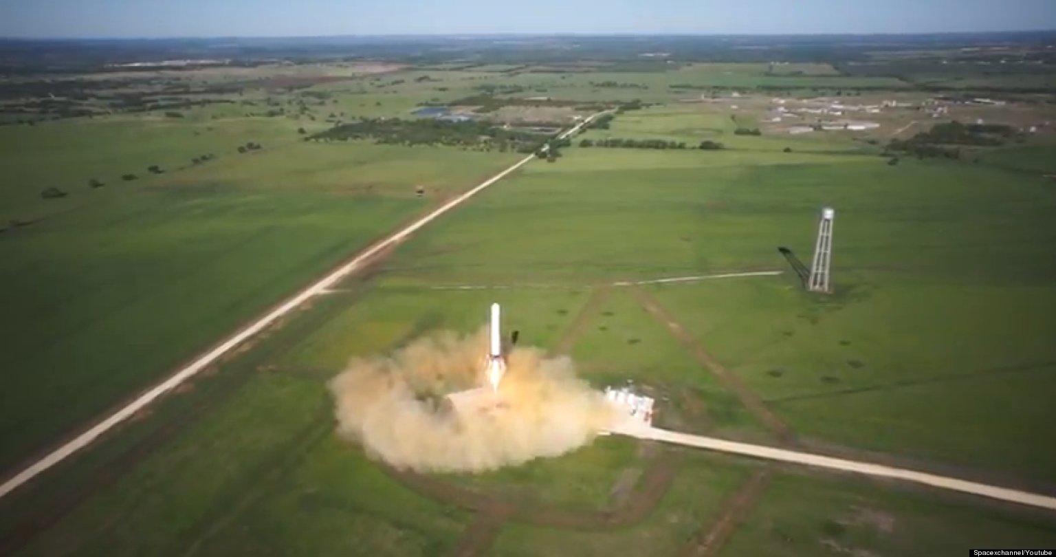 WATCH: Prototype Rocket Smashes Altitude Record
