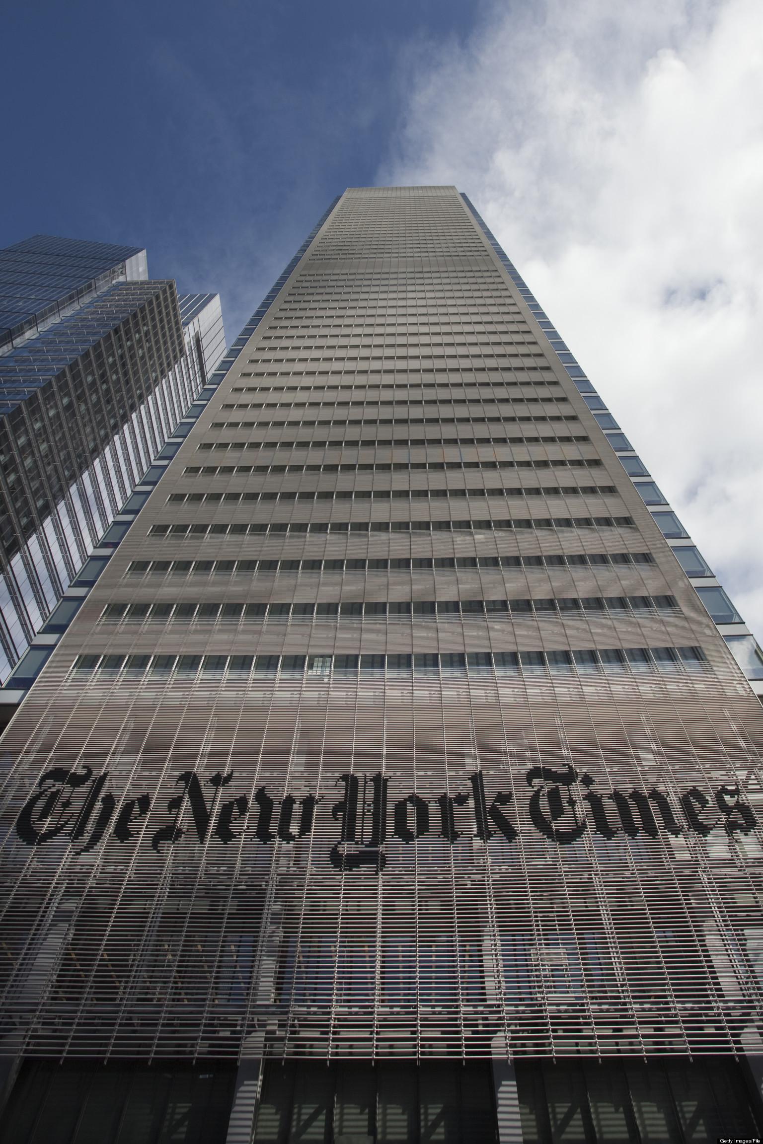 New York Times Building Nyc Address