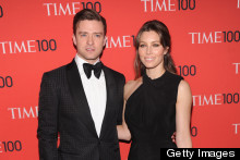 Justin Timberlake And Jessica Biel Do His 'N' Hers Style At Time 100 Gala
