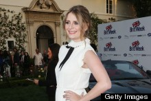 Is Little House On The Prairie Trending? Mischa Barton Goes A Bit Laura Ingalls For LA Britweek Party