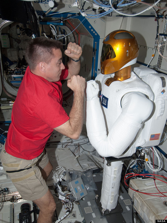 nasa robot fighting