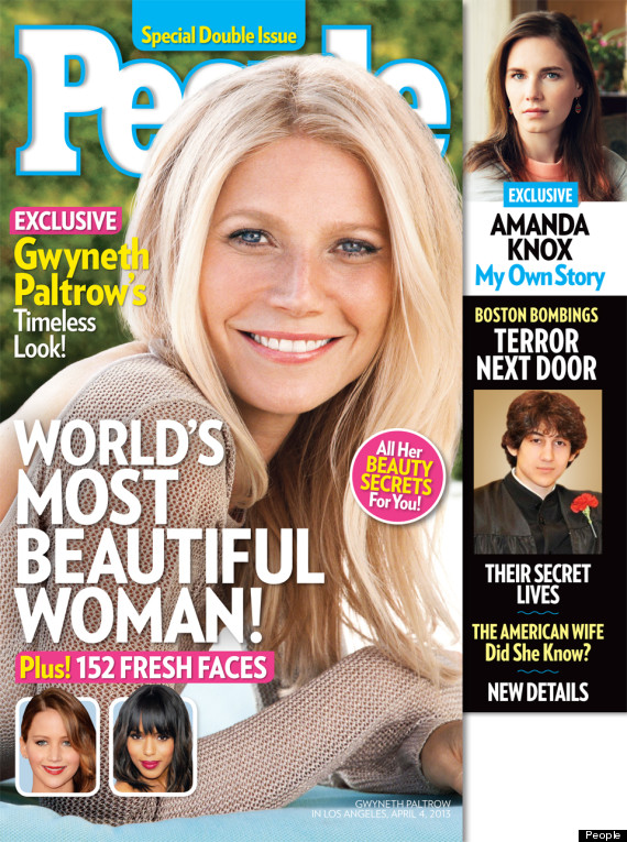 gwyneth paltrow people most beautiful