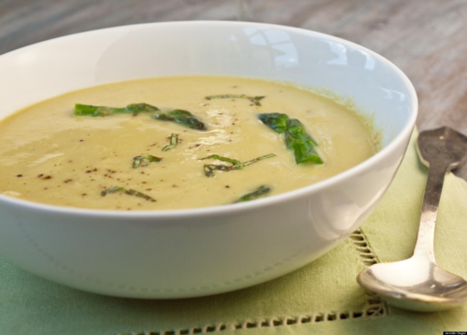 Creamless Cream of Asparagus Soup | HuffPost
