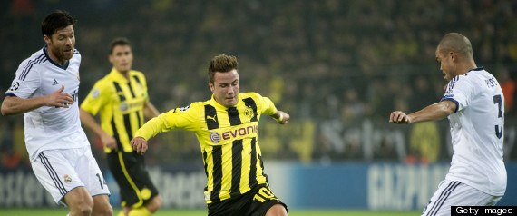 MARIO GOTZE REAL MADRID