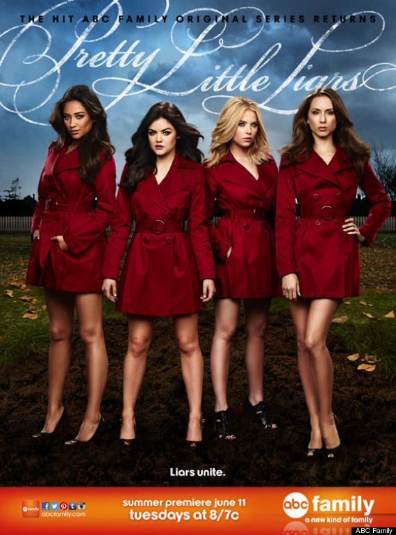 Pretty Little Liars' Season 4 Poster Is Full Of Red Coats (PHOTO