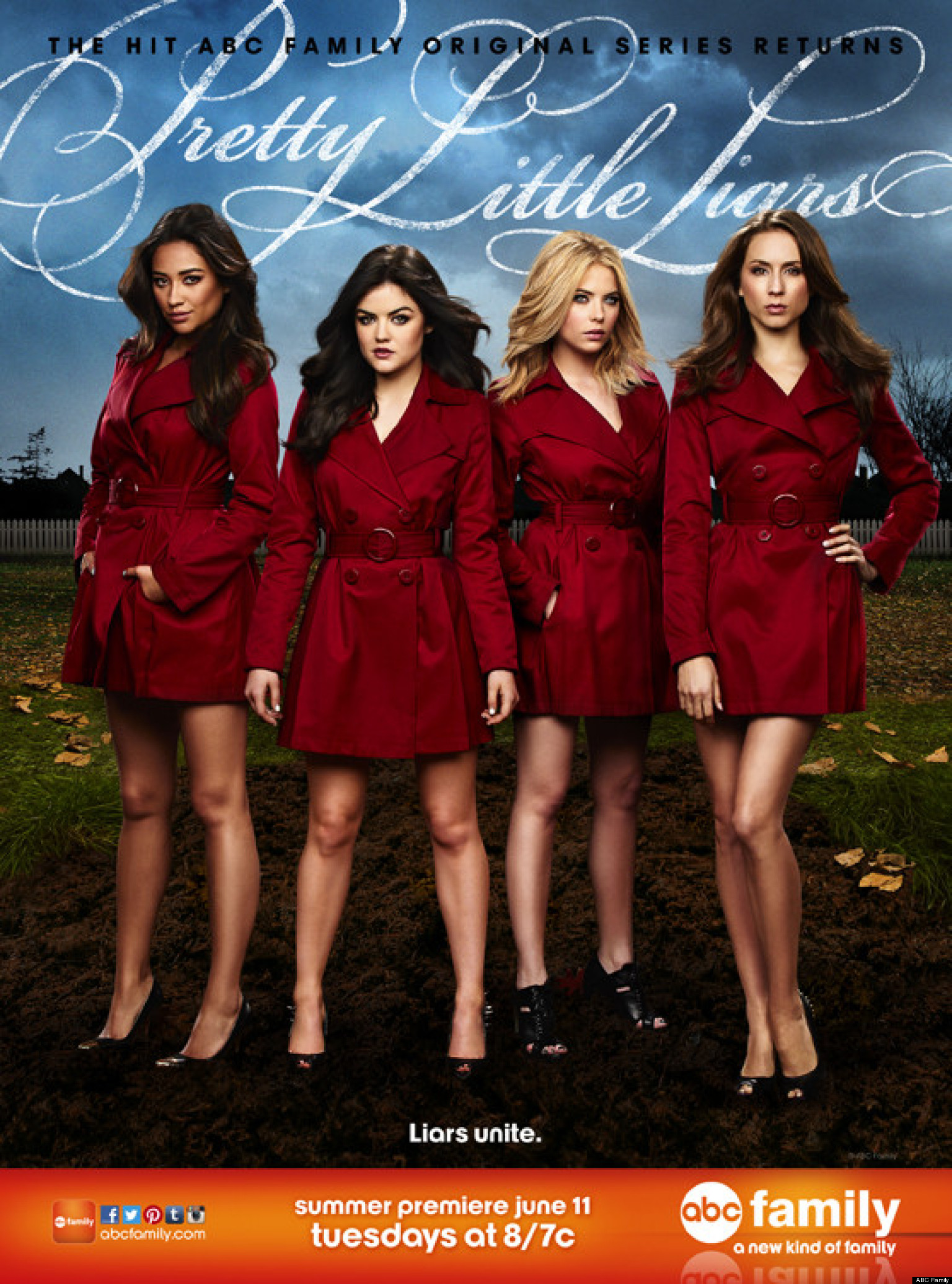 Pretty little liars season 4 facebook