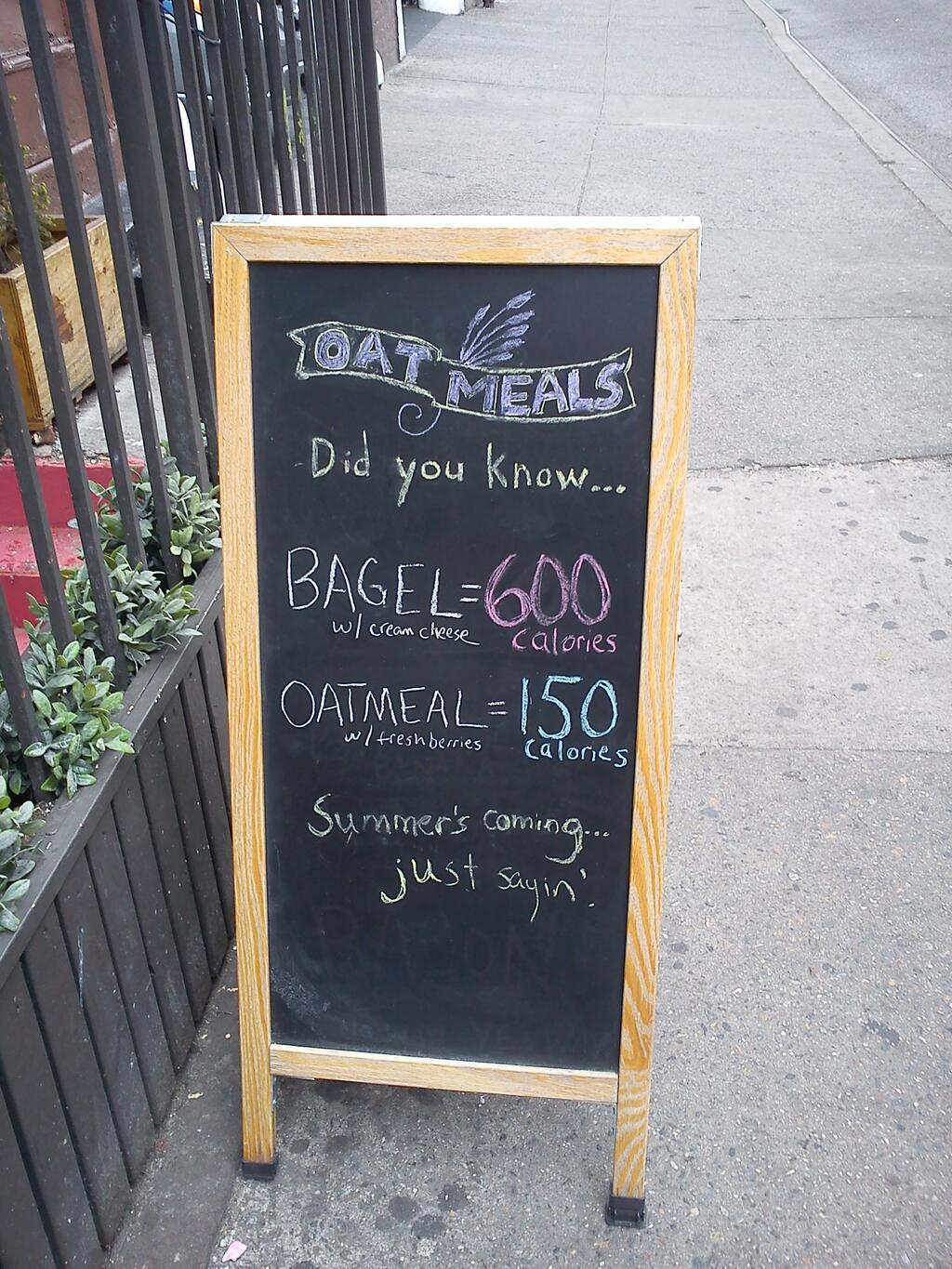 oatmeals ny fat shaming sign