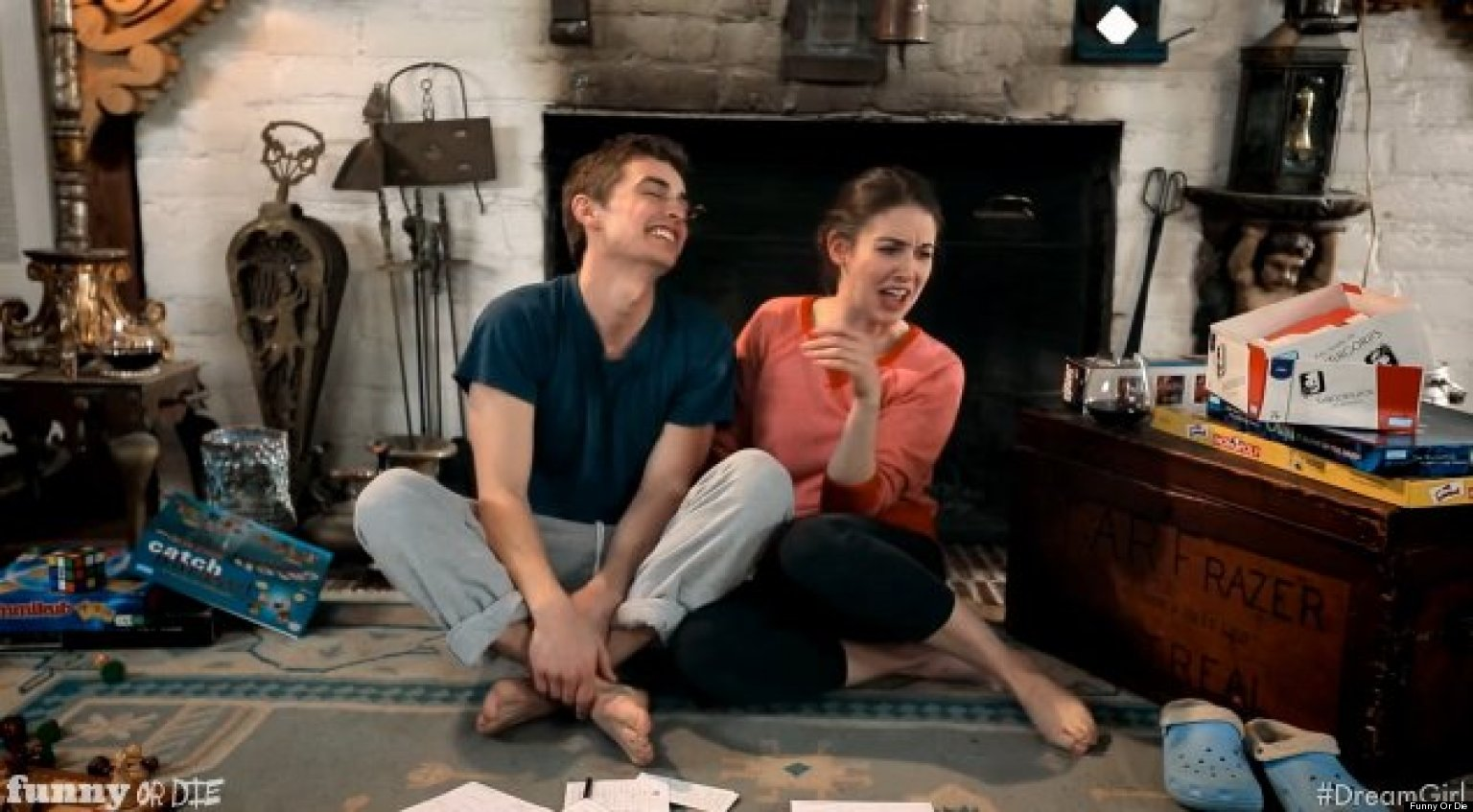 Alison Brie Is Dave Franco's Dream Girl, Sort Of (VIDEO)