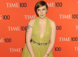 'Girls'' Lena Dunham Shows Cleavage In Saint Laurent At Time 100 Gala (PHOTO)