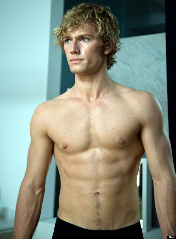 alex pettyfer topless 50 shades of grey
