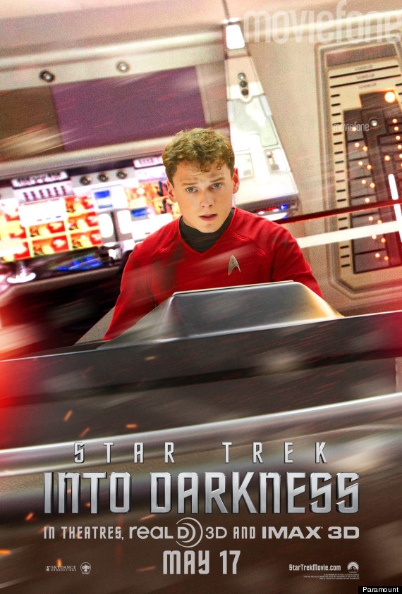star trek into darkness chekov poster