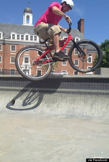 matt gilman blind biker