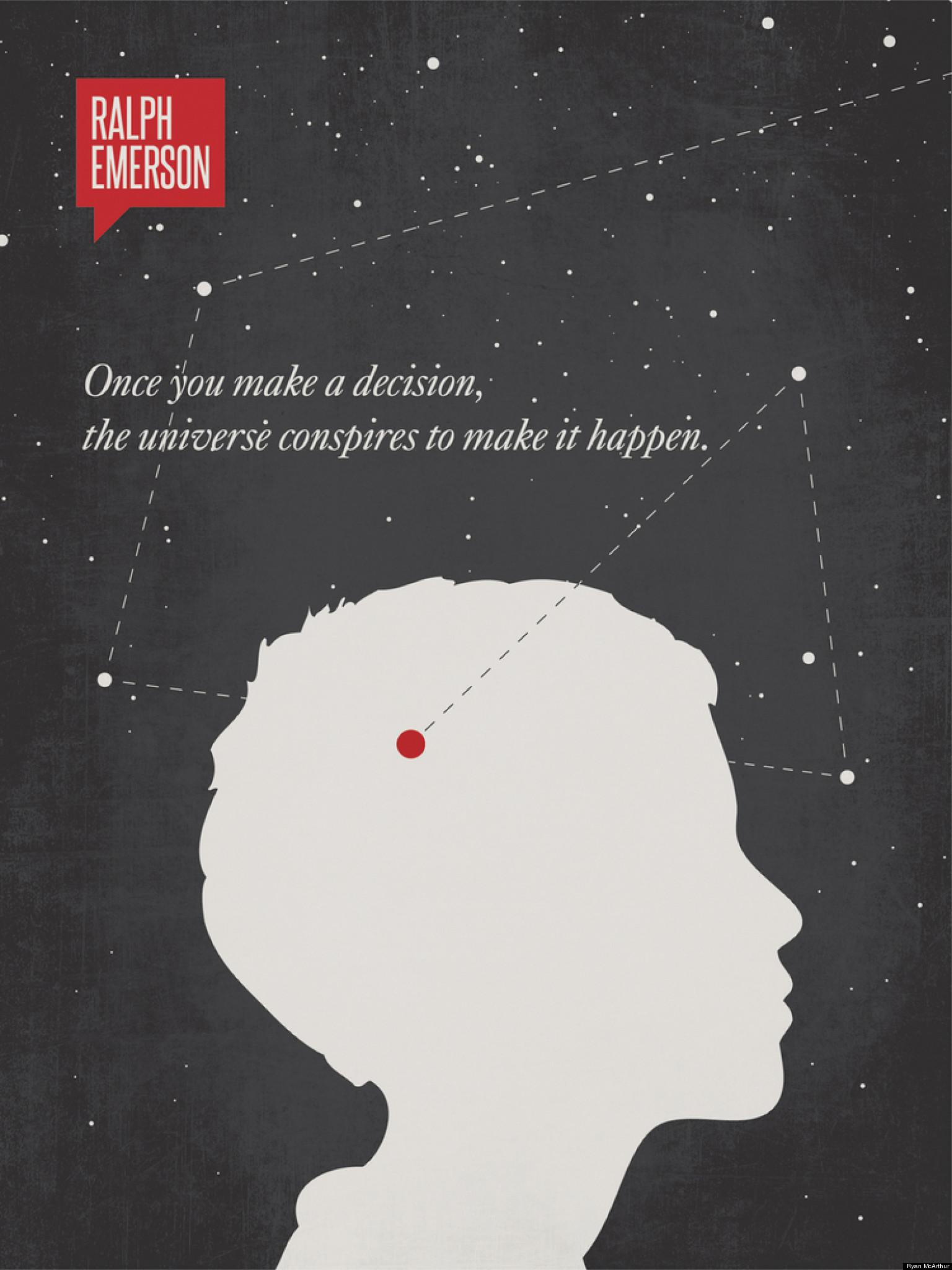 Ryan Mcarthur Minimalist Quote Posters Oscar Wilde Rumi