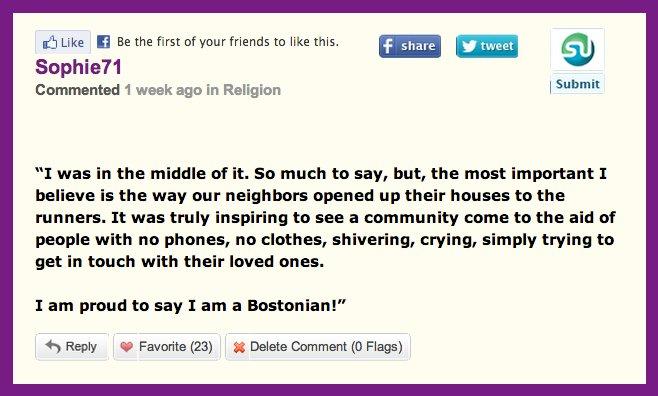 boston comments