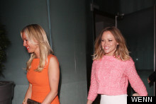 Denise Van Outen And Kimberley Walsh Glam Up For Strictly Reunion