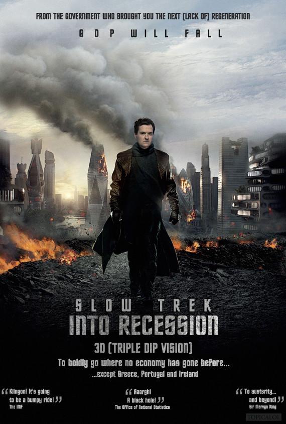 Slow Trek Into Recession movie poster