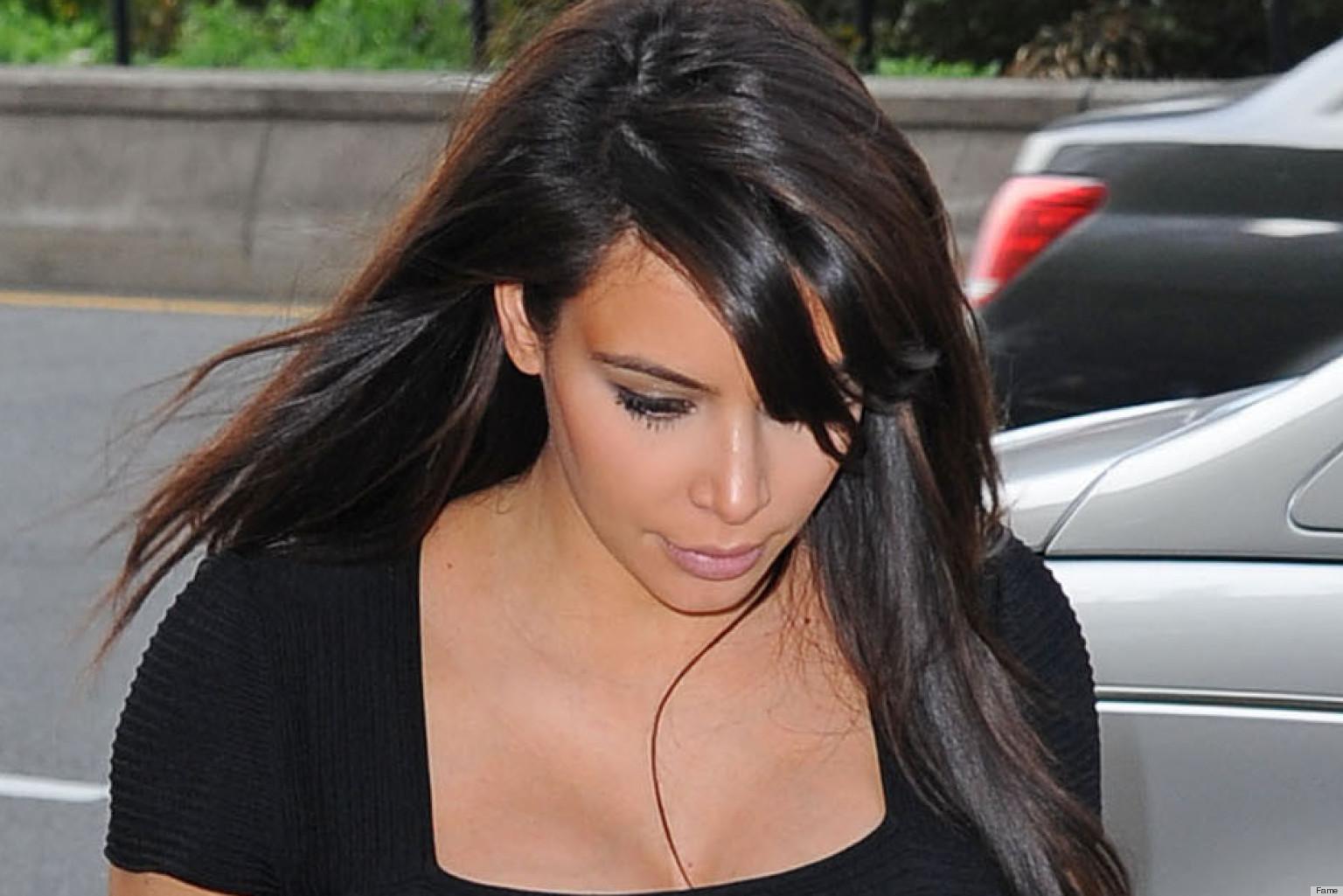PHOTOS: Kim Kardashian Could Really Use A Slip