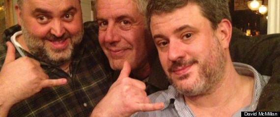 Anthony Bourdain And Joe Beef Chefs