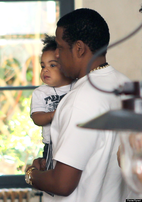 Blue Ivy, Beyonce, Jay-Z Grab Lunch In Paris (PHOTOS ...
