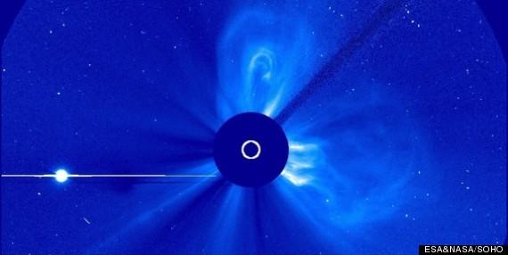solar flares mercury