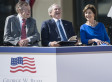 George Bush Snubs Reid, Pelosi, Hoyer At Presidential Library Ceremony