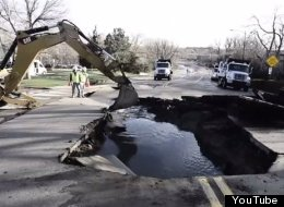 Boulder Sinkhole: Folsom St. Re-Opened After Weekend Repairs