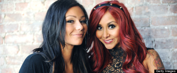 Photo of Jennifer Farley & her friend tv-personality  Snooki - Teenage