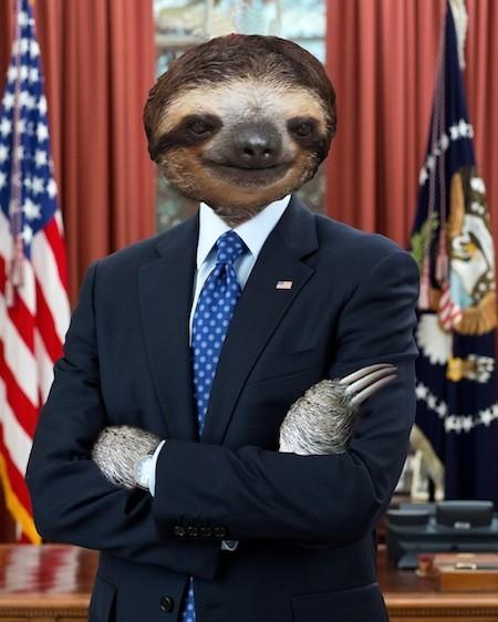 president sloth