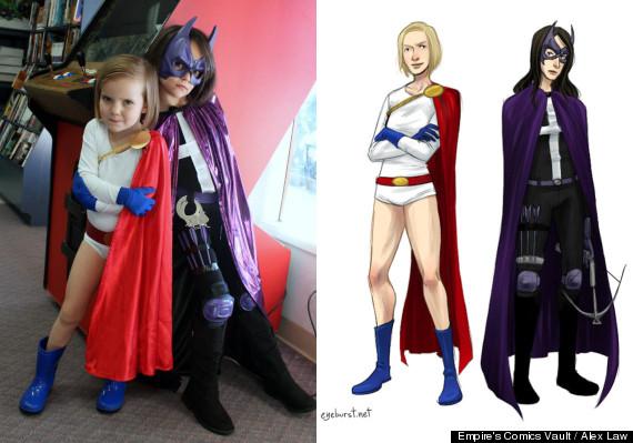 little girl superheroes