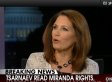 Michele Bachmann: Dzhokhar Tsarnaev's Mouth Essentially Has 'Duct Tape' Over It (VIDEO)