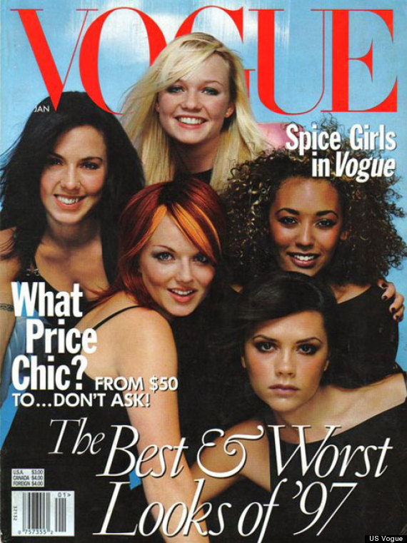 spice girls vogue cover
