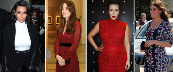 KIM KARDASHAIN KATE MIDDLETON