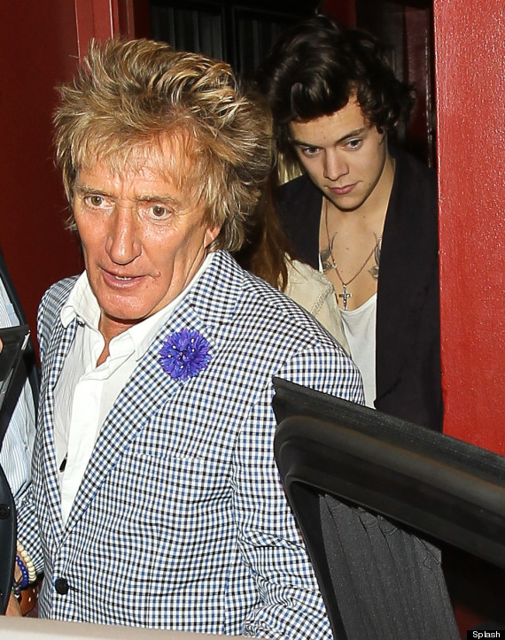 harry styles rod stewart