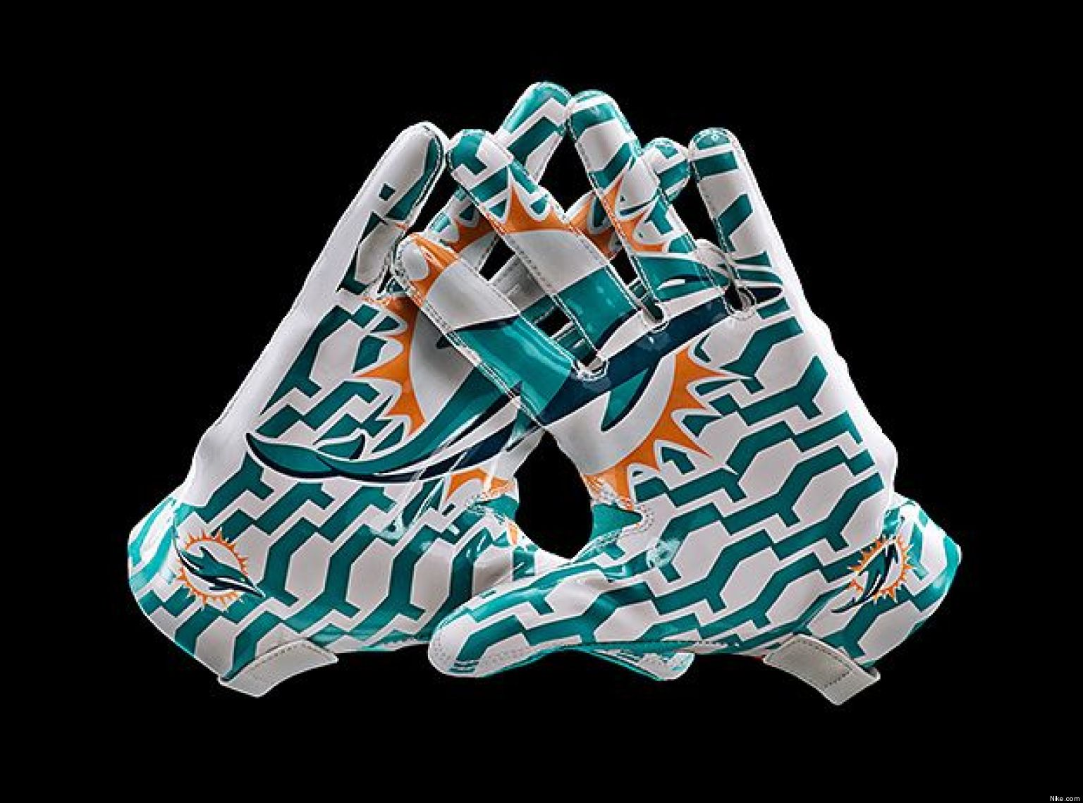 Nike Dolphins #58 Karlos Dansby White Men's Stitched NFL Limited Jersey