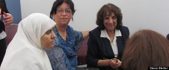 israeli palestinian women peace