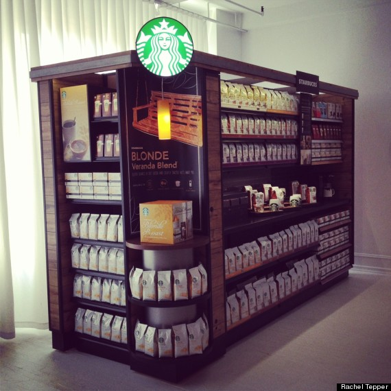 starbucks grocery store