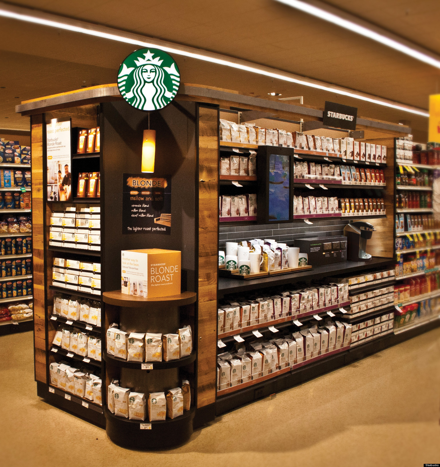 Starbucks Aims For Grocery Store Supremacy With New
