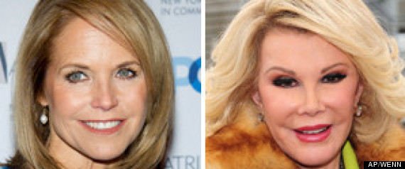 JOAN RIVERS KATIE COURIC