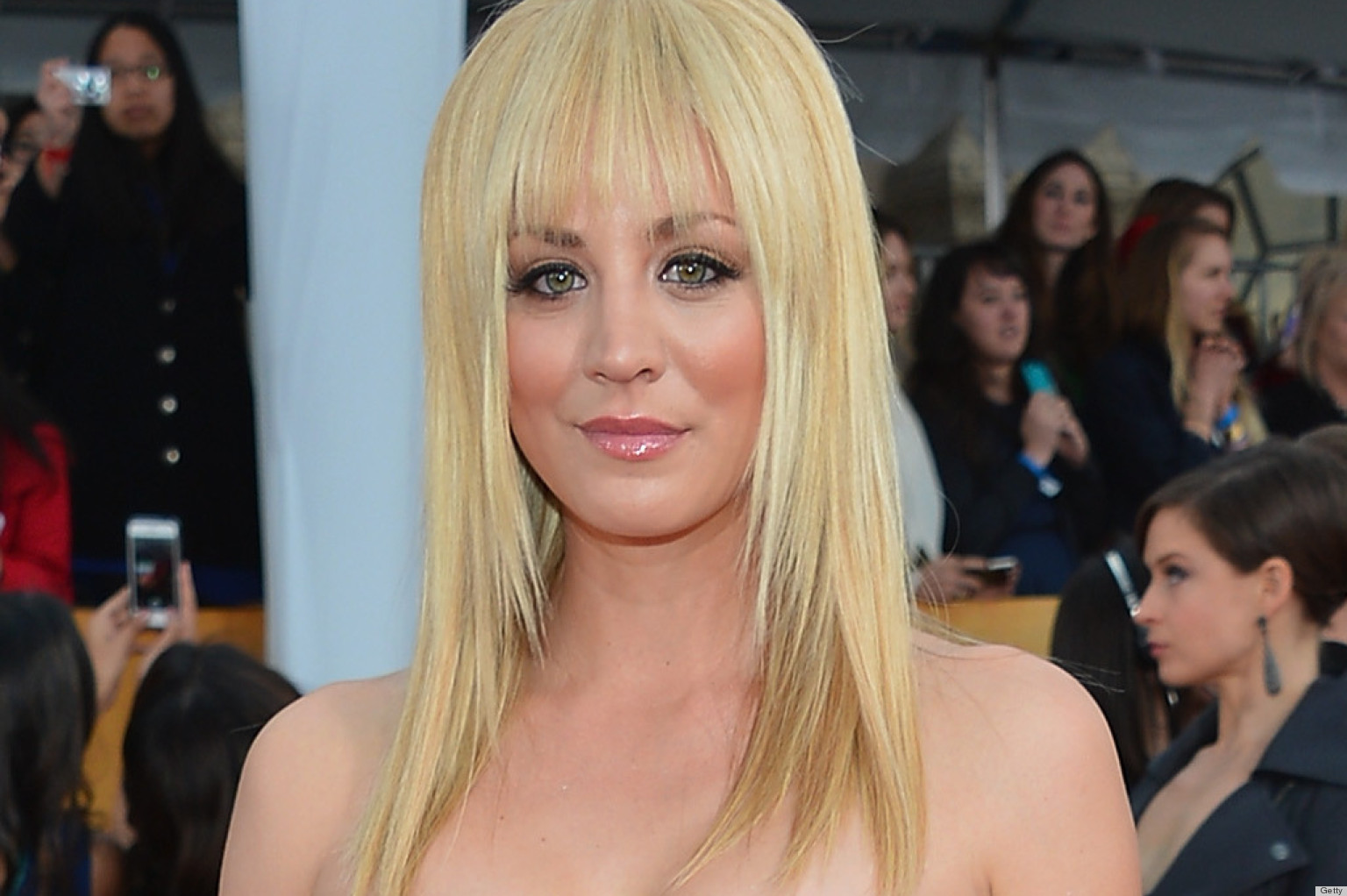 Kaley Cuoco S Bangs From Sag Awards Named Bev For Some