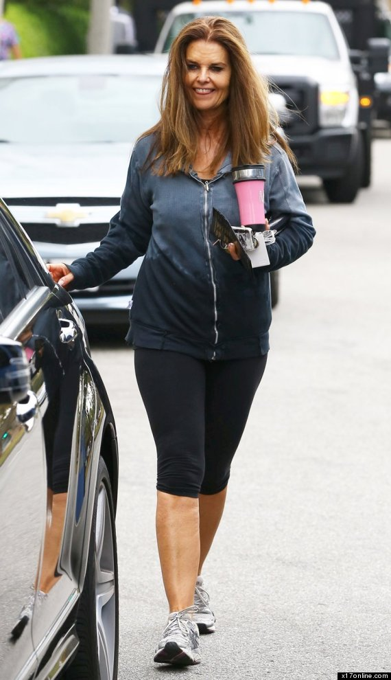 maria shriver no makeup