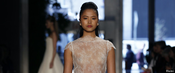 Sexy Wedding Dresses From Designers' Spring/Summer 2014