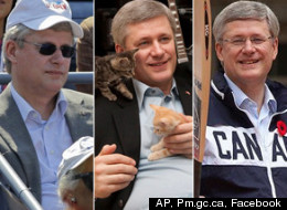 Stephen Harper Birthday Pics