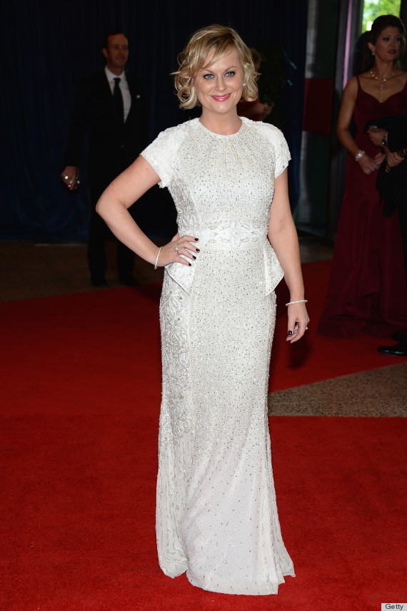 amy poehler white house correspondents dinner