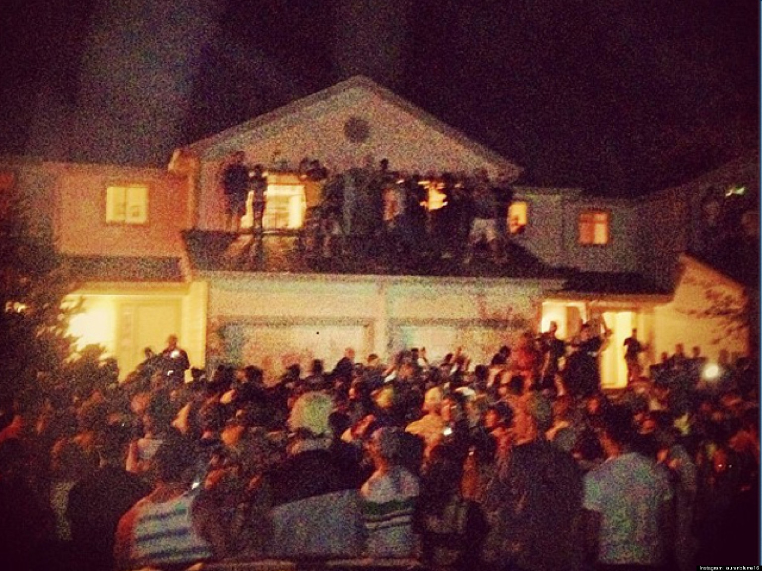 Cops Use Tear Gas To Break Up VIOLENT College Party