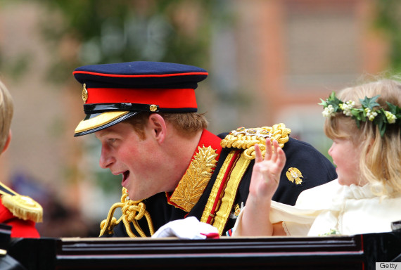 prince harry groomsman
