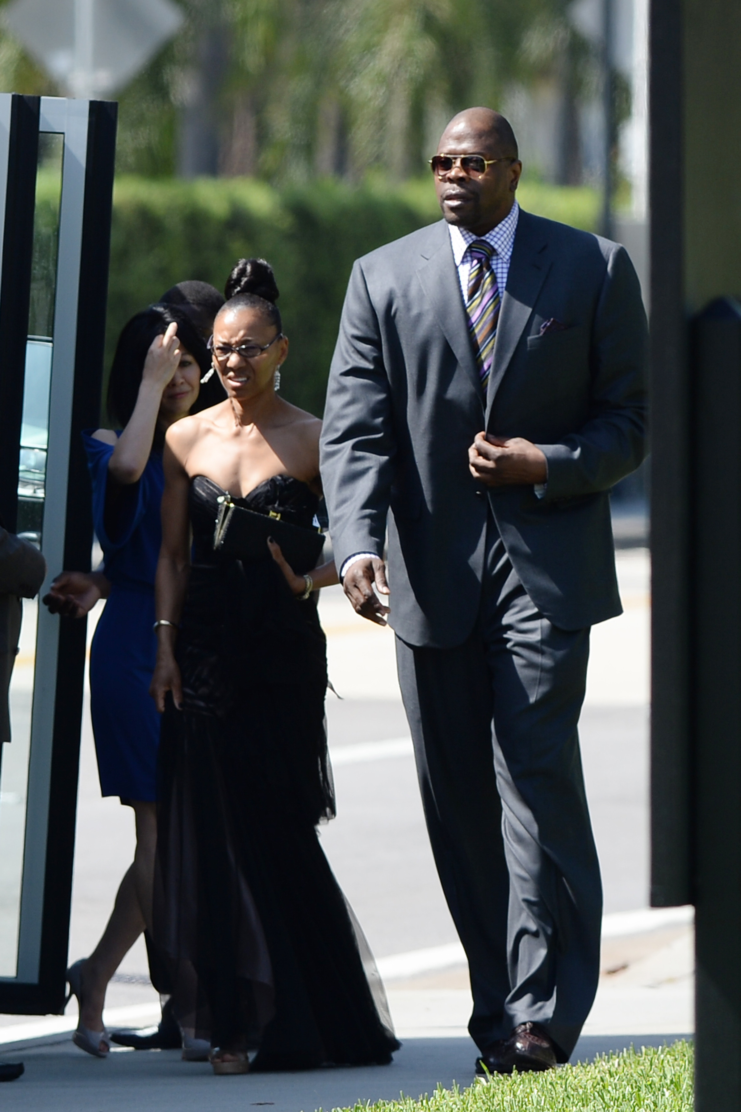 NBA Greats Look On As Jordan Marries Long-Time Girlfriend