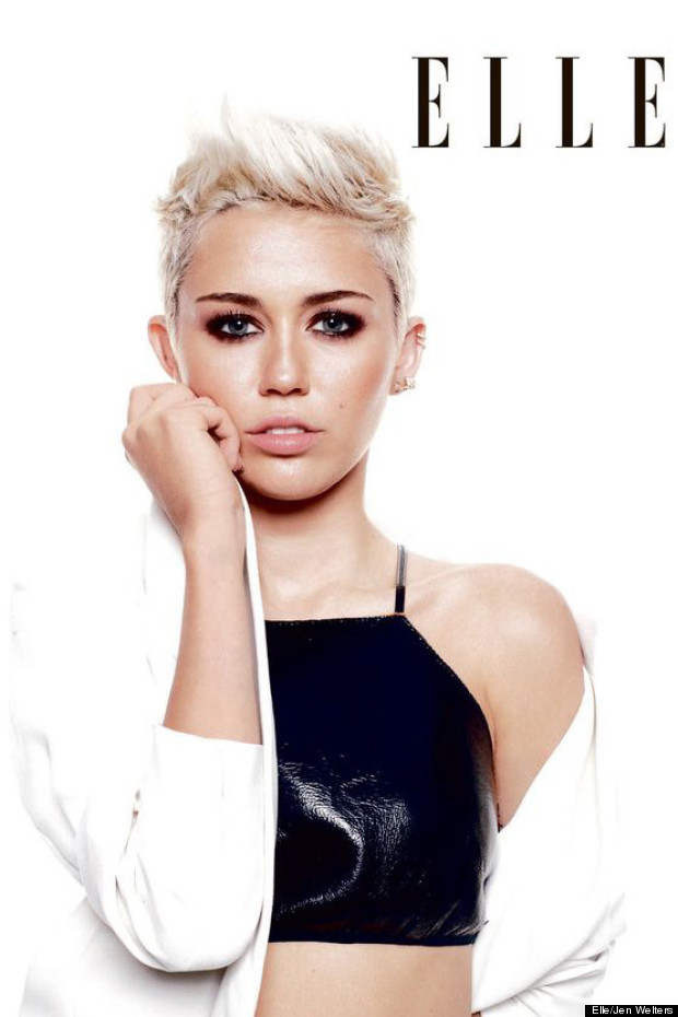 miley cyrus elle magazine