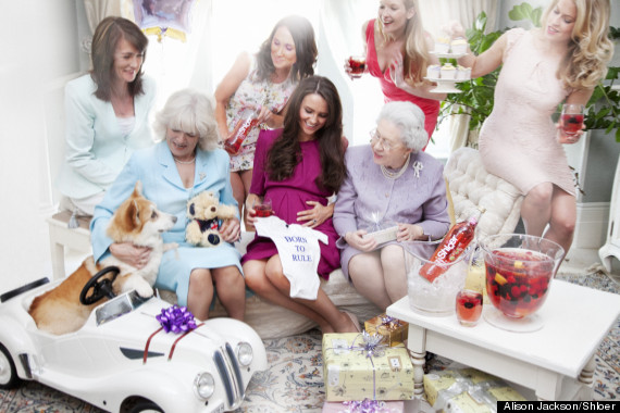 alison jackson baby shower royal family shloer