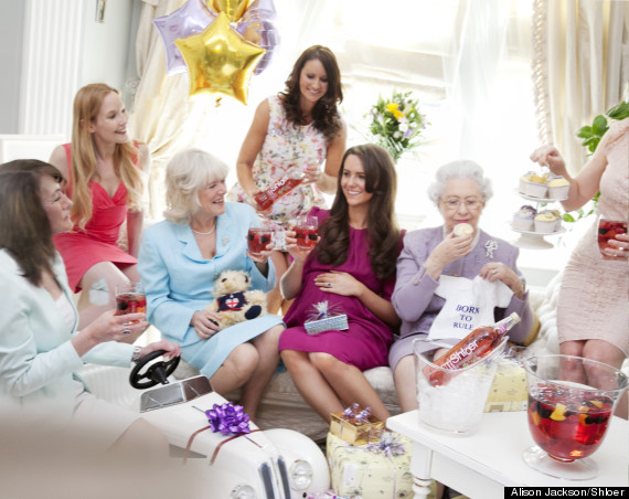 kate middleton 39 s royal baby shower as imagined by alison jackson